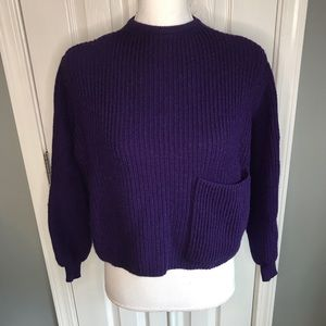 Vintage United Colors of Benetton crop sweater